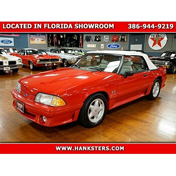 1991 Ford Mustang GT Convertible for sale 101275811