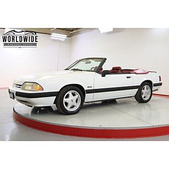 1991 Ford Mustang LX V8 Convertible for sale 101555942