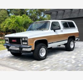1991 GMC Jimmy 4WD for sale 101313683