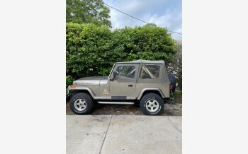 1991 Jeep Wrangler 4WD Sahara for sale 101495172