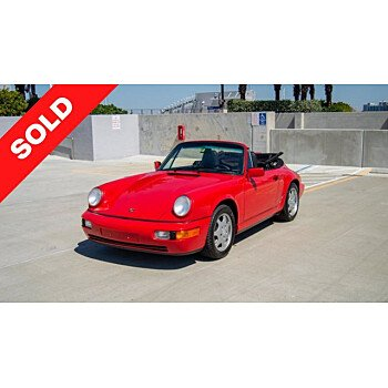 1991 Porsche 911 Cabriolet for sale 101520896