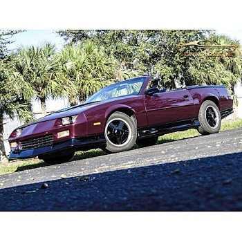 1992 Chevrolet Camaro RS Convertible for sale 101407486