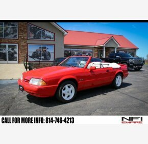 1992 Ford Mustang LX V8 Convertible for sale 101329522