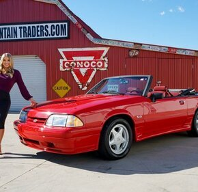 1992 Ford Mustang LX V8 Convertible for sale 101448150
