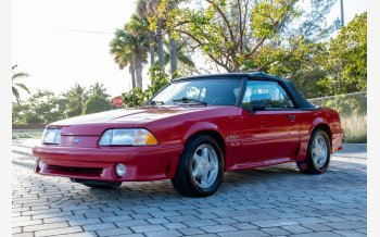 1992 Ford Mustang GT Convertible for sale 101468804