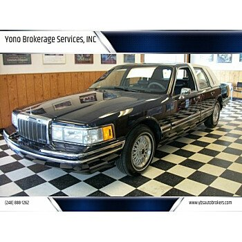 1992 Lincoln Town Car Executive for sale 101159885
