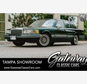 1992 Lincoln Town Car Signature for sale 101328583