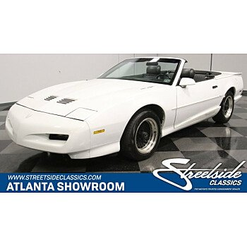 1992 Pontiac Firebird Trans Am Convertible for sale 101254045