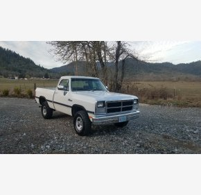 1993 Dodge D/W Truck 4x4 Regular Cab W-150 for sale 101107212