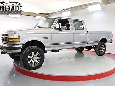 1993 Ford F350 4x4 Crew Cab for sale 101510115