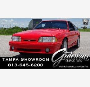 1993 Ford Mustang Cobra Hatchback for sale 101004316