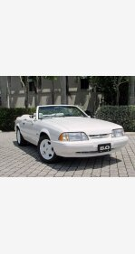 1993 Ford Mustang LX V8 Convertible for sale 101188429
