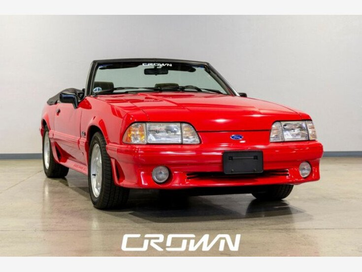 1993 Ford Mustang GT Convertible for sale 101609857