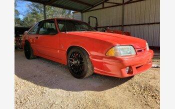 1993 Ford Mustang Cobra Hatchback for sale 101628161