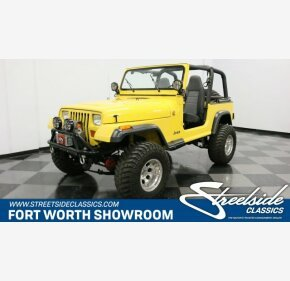 1993 Jeep Wrangler for sale 101072622