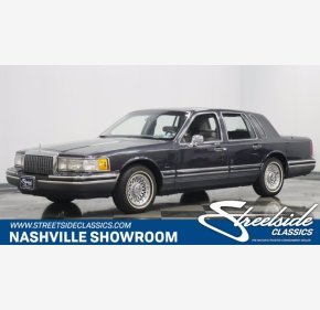 1993 Lincoln Town Car Cartier for sale 101404720