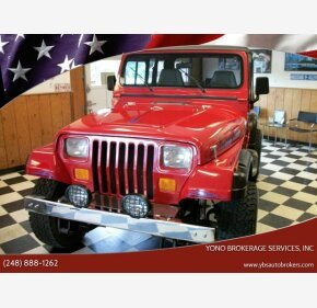 1994 Jeep Wrangler for sale 101359861