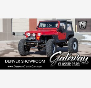 1994 Jeep Wrangler 4WD SE for sale 101282106