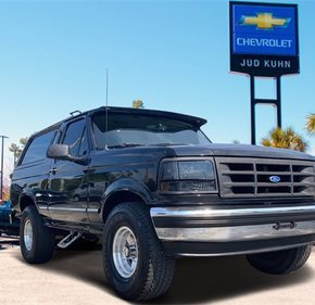 1995 Ford Bronco XLT for sale 101367832