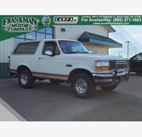 1995 Ford Bronco Eddie Bauer for sale 101390589
