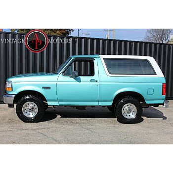 1995 Ford Bronco XL for sale 101421350