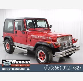 1995 Jeep Wrangler 4WD SE for sale 101434462