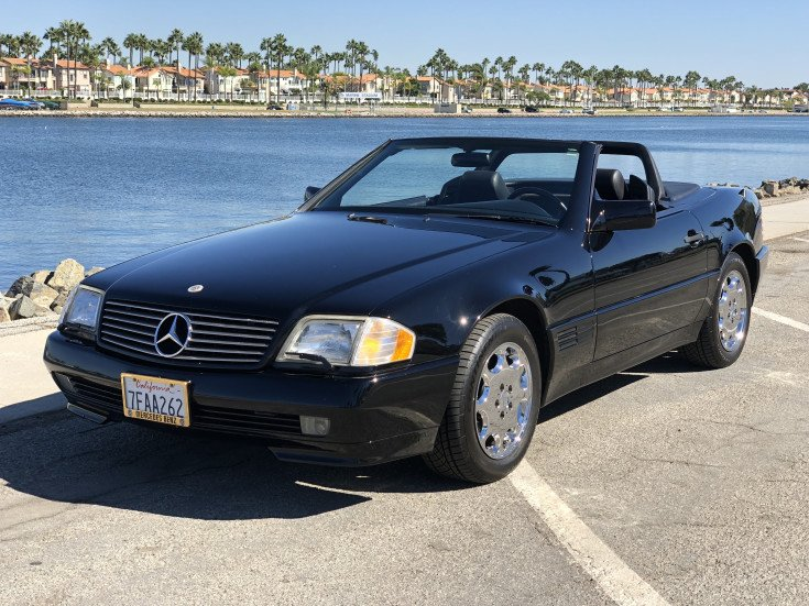 1995 Mercedes-Benz SL500 for sale near Long Beach, California 90808 on neutral safety switch replacement, oil pan gasket replacement, fuel pump replacement, pitman arm replacement, brake light switch replacement, map light bulb replacement, turn signal switch replacement, third brake light replacement, power window motor replacement, timing chain replacement, camshaft position sensor replacement, fuel injector replacement, hood release cable replacement, timing belt tensioner replacement, windshield wiper arm replacement, cigarette lighter socket replacement, catalytic converter replacement,