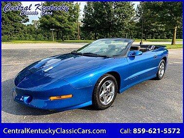 1995 Pontiac Firebird Trans Am Convertible for sale 101598922