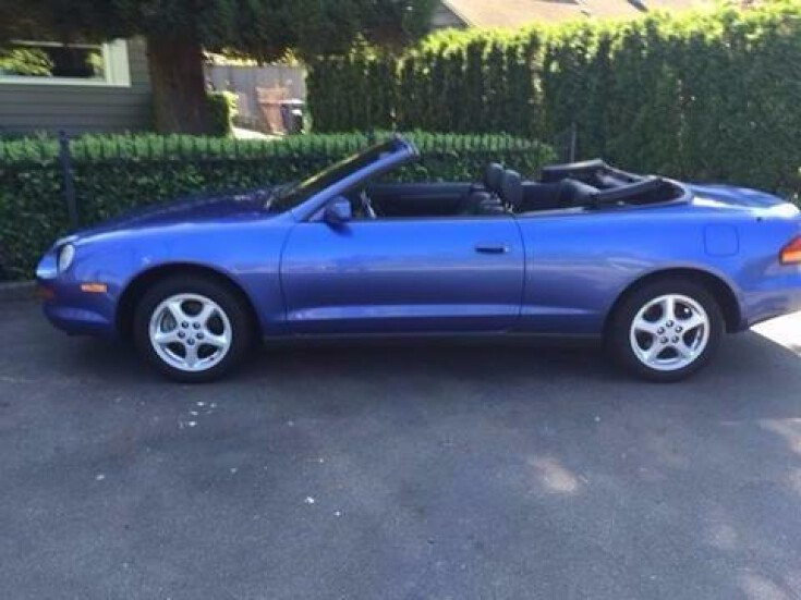 1995 toyota celica gt convertible for sale near seattle. Black Bedroom Furniture Sets. Home Design Ideas