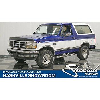 1996 Ford Bronco for sale 101300776