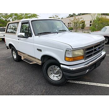 1996 Ford Bronco Eddie Bauer for sale 101341776