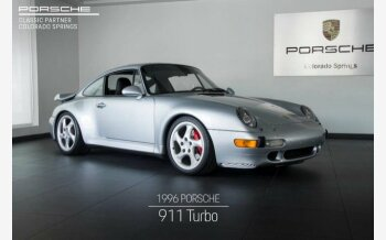 1996 Porsche 911 Turbo Coupe for sale 101230121