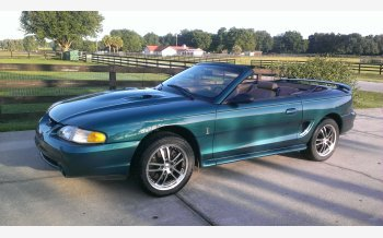 1997 Ford Mustang Cobra Convertible for sale 101270325