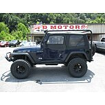 1997 Jeep Wrangler 4WD SE for sale 101184467