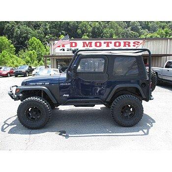 1997 Jeep Wrangler 4WD SE for sale 101184467