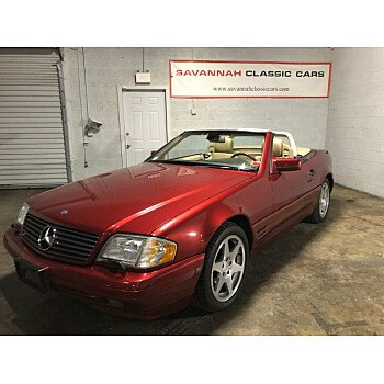 1997 Mercedes-Benz SL500 for sale 101283131