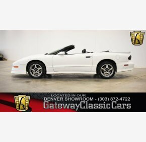 1997 Pontiac Firebird Convertible for sale 100979904