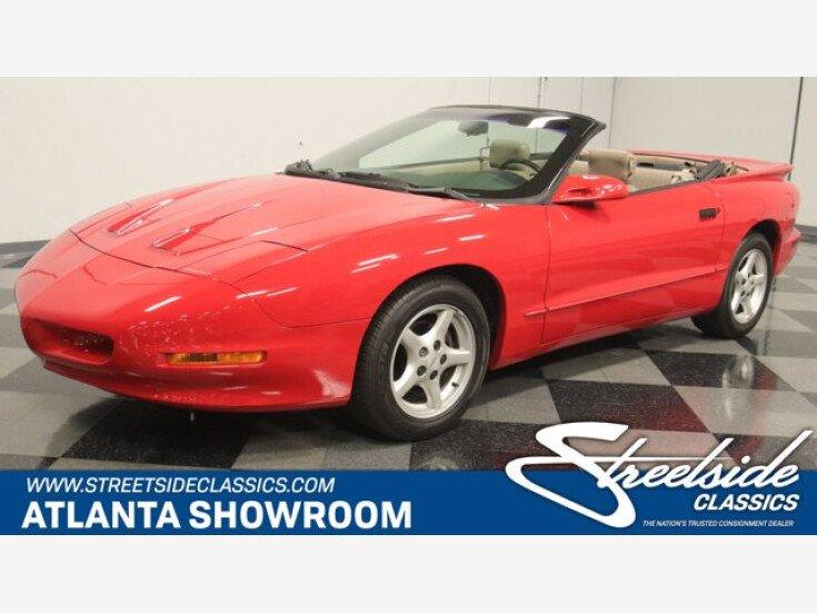 1997 Pontiac Firebird Convertible for sale 101609302