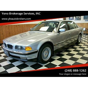 1998 BMW 750iL for sale 100917146