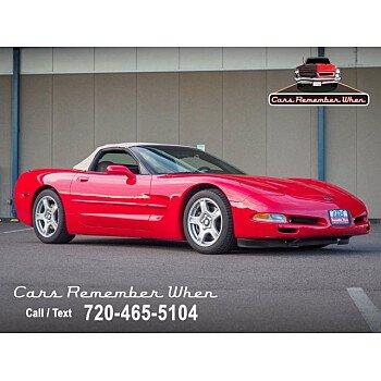 1998 Chevrolet Corvette Convertible for sale 101605606
