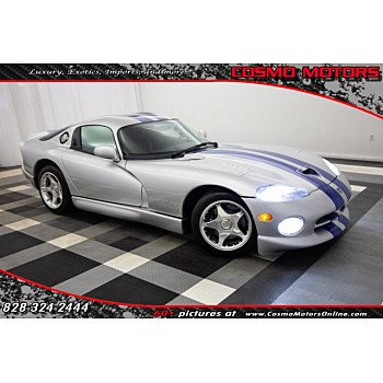 1998 Dodge Viper GTS Coupe for sale 101125436