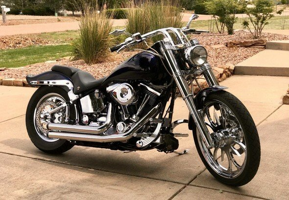 HARLEY /'98 Dyna Wide Glide 95th Anniversary Series 3 Brown /& Gold