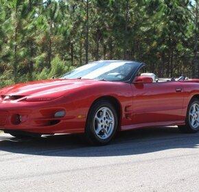 1998 Pontiac Firebird Trans Am Convertible for sale 101214286