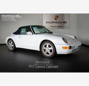 1998 Porsche 911 Cabriolet for sale 101209598
