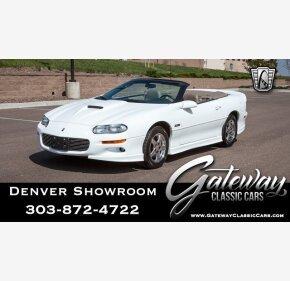 1999 Chevrolet Camaro Z28 Convertible for sale 101129517