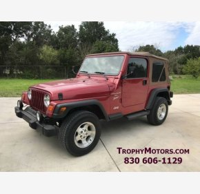1999 Jeep Wrangler 4WD Sport for sale 101094391
