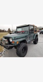 1999 Jeep Wrangler for sale 101327734