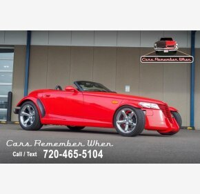 1999 Plymouth Prowler for sale 101416268