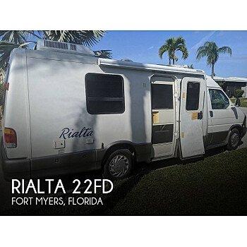 1999 Winnebago Rialta for sale 300231667