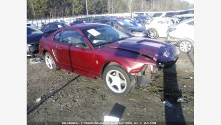 2000 Ford Mustang Coupe for sale 101103506